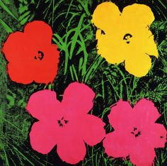 That's a Wrap - Warhol's Flowers, 1970, which inspired the new prints.