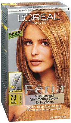 Loreal Fria 73 Golden Sunset Dark Blonde Trying This For Fall Hair Is Too Light Now