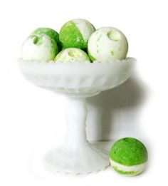 Bring a little of the islands right to your bathroom with Nourish's Coconut Lime Bath Fizzie!  Baking soda and citric acid produce a gentle fizz that lightly massages and stimulates your skin as it absorbs the rich nutrients in shea butter and tropical coconut oil. http://www.nourishsavannah.com/product-p/fizzie2.htm $3.00