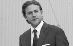 Charlie Hunnam (Sons of Anarchy's Jax) PS i watch this show for him ; Ryan Hurst, Charlie Hunnam Soa, Jax Teller, Raining Men, Sons Of Anarchy, Andrew Lincoln, Christian Grey, Suit And Tie, To My Future Husband
