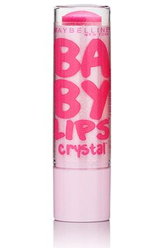 Maybelline has a hit on their hands with the Baby Lips product line, and now the brand has added the Crystal series ($4, available in July) to the collection. @Maybelline