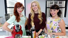 3 Hostessing Tips That Will Forever Change the Way You Throw a Party: Alie Ward and Georgia Hardstark are the creative twosome behind the Cooking Channel's Unique Sweets and the one-of-a-kind cocktail the McNuggetini.