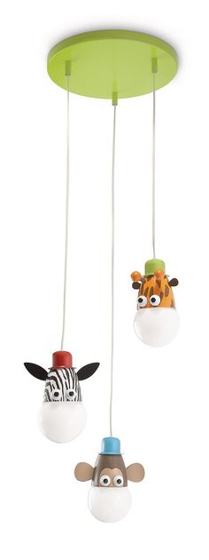 Philips Kinderzimmerlampe Zoo Pendelleuchte Energiespar Pendel
