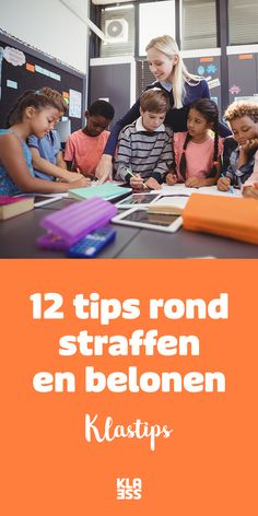 Hou je klas in de hand: 12 tips rond straffen en belonen. #klasmanagement #straffen #belonen #onderwijs Educational Leadership, Educational Technology, School Hacks, Mobile Learning, Learning Quotes, Primary Education, New Career, Early Childhood Education, Classroom Management