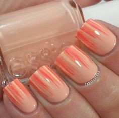 Essie A Crewed Interest ; unspecified polished as stripes ; 7/8/13 ; carlysisoka