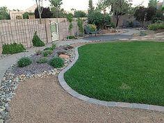 Ideal Southwest Yard at Laguna Seca Albuquerque New Mexico Home For Rent