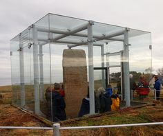 bullet in glass box - Google Search
