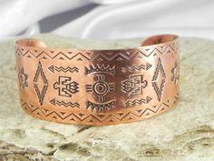 Native American Copper Cuff