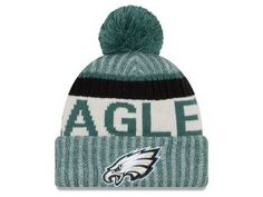 Philadelphia Eagles New Season Sports Beanie Cuffed Winter Knit Cap Team  Gear a7e475f38