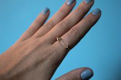 DIY Safety Pin Ring | I Spy DIY