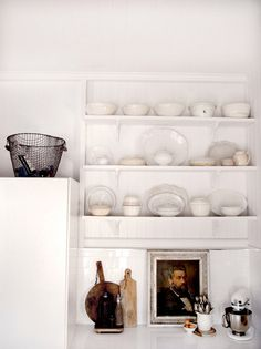 Kitchenscaping. This is interesting because the portrait is unexpected.