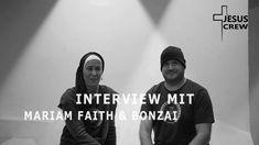 JESUSCREW | das Interview mit | MARIAM FAITH | BONZAI | Holy Spirit Production Holy Spirit, Holi, Interview, Faith, T Shirt, Women, Fashion, Holy Ghost, Supreme T Shirt