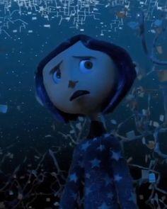 Coraline Aesthetic, Aesthetic Movies, Aesthetic Videos, Coraline Tumblr, Cute Bunny Cartoon, Tim Burton Films, Johnny Depp Movies, Perfect Movie, Coraline Film