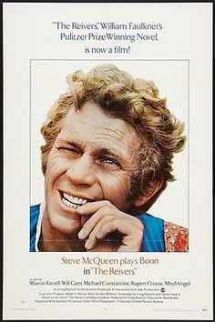 """BRING BACK THE 70'S!!"" - Just added some GREAT movie posters from the '70's. Mostly all 1-sheets that measure approx. 27x41. REIVERS - 1970 - original 27x41 1-Sheet Movie Poster - STEVE MCQUEEN"