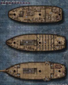 cog ship layout - Google Search