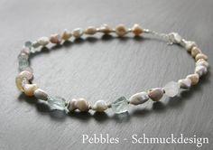 Perlen&Edelsteine...ganz barock von Pebbles...Schmuckdesign auf DaWanda.com