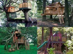 Chi viene con noi in una di queste magiche case per #bambini sugli #alberi? Visto il tempo meglio stare al coperto :) #familyhoteltrentino #casesuglialberi #kids #magia Ph Credits: architecturendesign.net