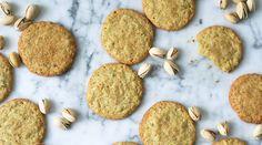 Toasted pistachio cookies via @PureWow