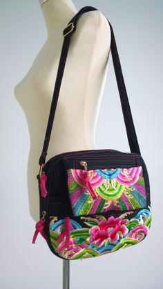 A personal favourite from my Etsy shop https://www.etsy.com/sg-en/listing/496437541/boho-pouch-bag-hmong-crossbody-bag