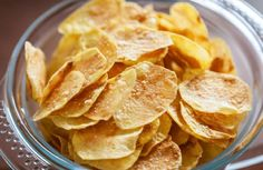 When you're craving something crunchy but don't want the added fat, whip up a batch of these chips.