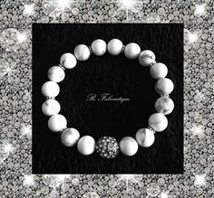 Howlite & Crystals   Quality handmade jewelry for women and men. Made in Newport Beach, CA and only available at www.bfabeautique.com.