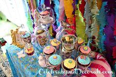Alice in Wonderland Baby Shower Party Ideas
