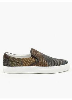 Diemme Men's Brown Tina Garda Slip-On Sneakers