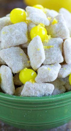 Lemon Cheesecake Muddy Buddies Recipe