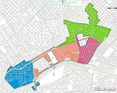 Operação Urbana Faria Lima – lei: divisão em setores (lei 13.769/04) [SEMPLA/PMSP]