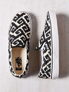 Vans Era Van Doren Geo Slip-On Sneakers // #Shopping