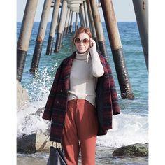 Sea and wind  海上风 www.normcoregirl.com  @my_barba #barcelona #badalona #influencer #publisher #writer #bcnblogger #todayiamwearing #whatiwore #style #chloegirls #tous