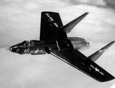 Vought F7U Cutlass. National Naval Aviation Museum photo