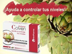 VenPharma Colven a base de shiitake, alcachofa y arroz rojo.