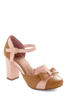 For Your Information Heel in Pink.