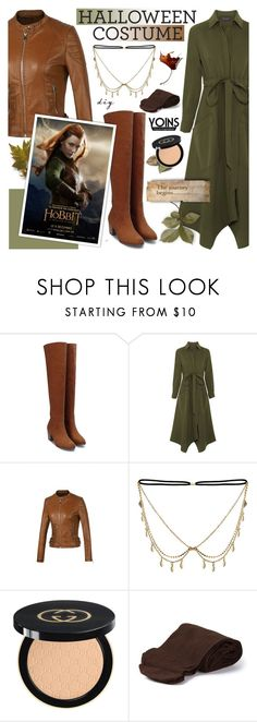 """""""Halloween look! yoins 3.8"""" by cly88 ❤ liked on Polyvore featuring Cédric Charlier, Gucci and Biba"""