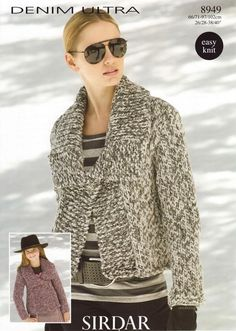 Gotta have this sweater.....  Sirdar--Jacket (age 6 up)
