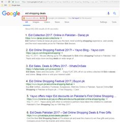 Keyword:  Eid Shopping Deals with 50.79% difficulty high search volume that is Optimized for www.priceblaze.pk and get ranked on Google.com.pk in Top 3.  #EidShoppingDeals #PriceBlaze.pk #GoogleSEO #DigitalMarketing