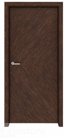 Add Natural Beauty To Any Modern Setting With Our Dark Walnut Wood Interior  Door Richmond