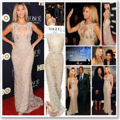 """Beyonce at the premiere film ""Life Is But A Dream"" in NY, Feb 12"" by robilollo on Polyvore"