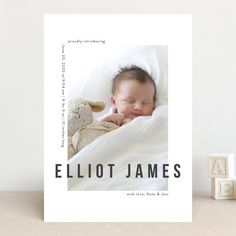 Baby Boy Birth Announcement, Announcement Cards, Birth Announcements, Baby Boy Newborn, Baby Kids, Baby Collage, Birth Photography, Baby Album, New Baby Cards