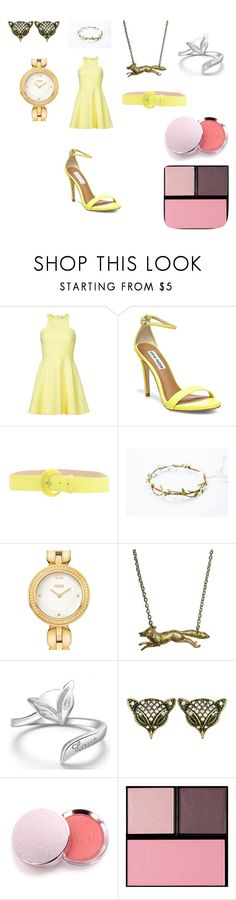 """Untitled #175"" by laurie-egan on Polyvore featuring Elizabeth and James, Steve Madden, CAFèNOIR, Fendi, 100% Pure and Surratt"