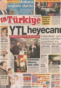 Türkiye gazetesi 2 ocak 2005