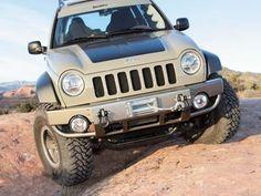 The Jeep Liberty, Or Jeep Cherokee (KJ/KK) Outside North America,