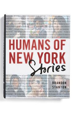 'Humans Of New York: Stories' Book available at #Nordstrom