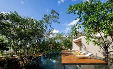 Completed in 2017 in Mexico. Images by Rafael Gamo. On the beautiful island of Cozumel in Quintana Roo, Mexico, this sqm luxury residential project is located on a sqm site with abundant. Cozumel Scuba Diving, Cozumel Island, Fish House, Villa, Maui Vacation, Quintana Roo, Interior Exterior, Interior Livingroom, Interior Design