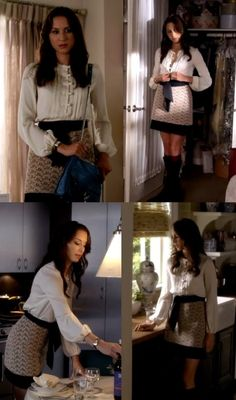 Spencer Hasting - Pretty Little Liars right before Radley