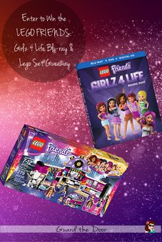 I don't know about you, but my daughter is over the moon for Legos, and particularly anything Lego Friends. Enter to Win the LEGO FRIENDS: Girlz 4 Life Blu-ray And Lego Set Giveaway!  Contest ends 2/10.