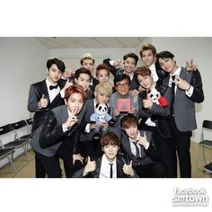 EXO with Jackie Chan