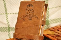 Mini Owl book from etsy!
