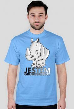 JESTEM GRUBOSKÓNY Obi Wan, Logos, My Style, Mens Tops, T Shirt, Supreme T Shirt, Tee, Logo, A Logo